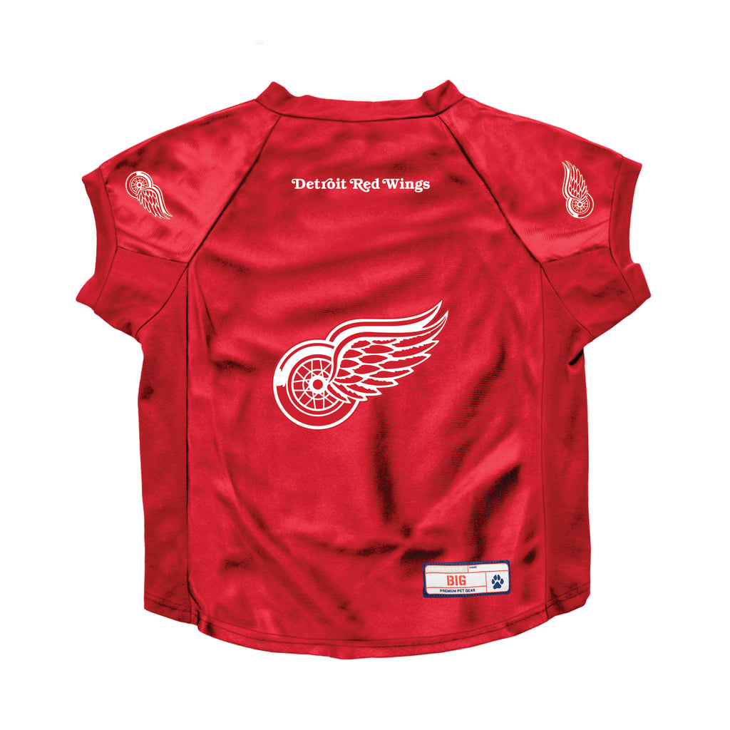 Detroit Red Wings Big Pet Stretch Jersey