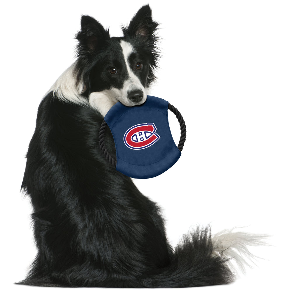 Montreal Canadiens Team Flying Disc Pet Toy