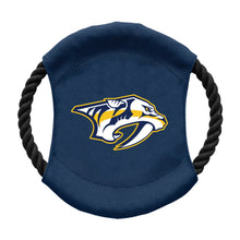 Load image into Gallery viewer, Nashville Predators Team Flying Disc Pet Toy