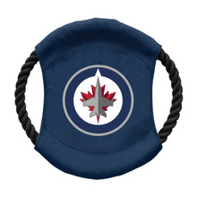 Load image into Gallery viewer, Winnipeg Jets Team Flying Disc Pet Toy