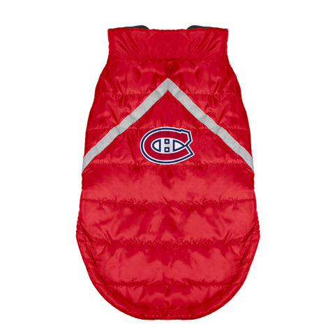 Montreal Canadiens Pet Puffer Vest