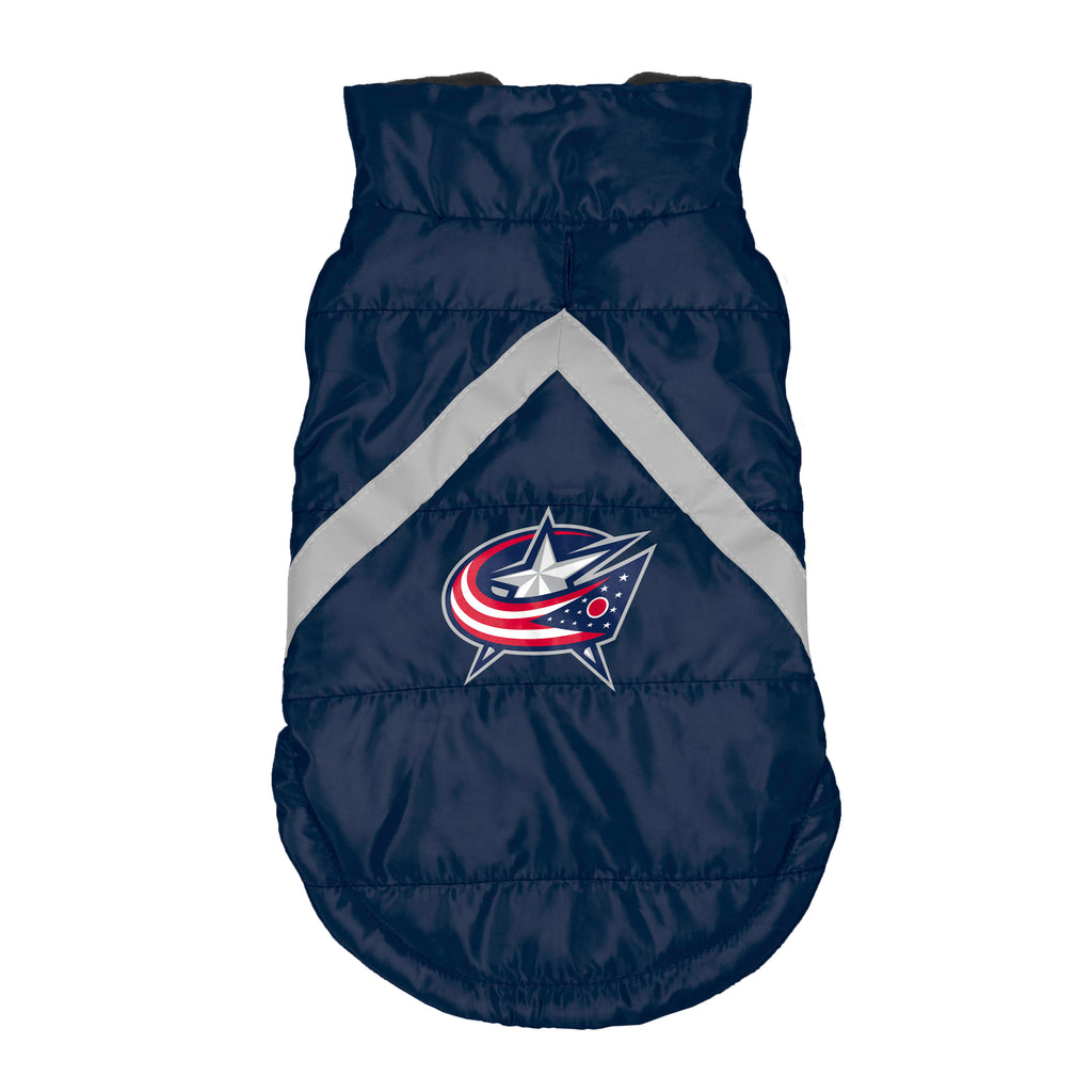 Columbus Blue Jackets Pet Puffer Vest