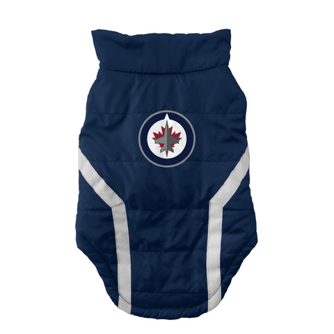 Winnipeg Jets Pet Puffer Vest