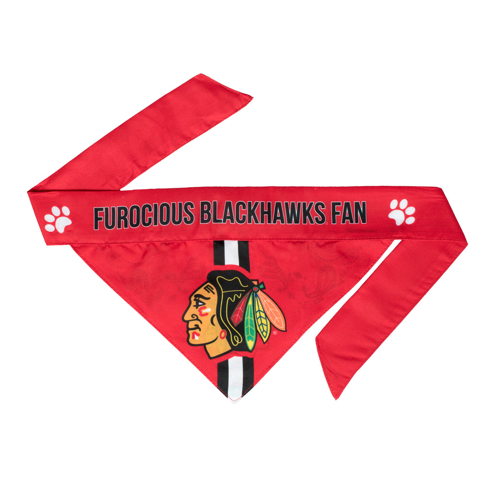 Chicago Blackhawks Pet Bandana