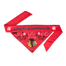 Load image into Gallery viewer, Chicago Blackhawks Pet Bandana