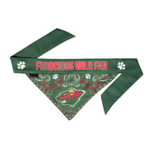 Load image into Gallery viewer, Minnesota Wild Pet Bandana