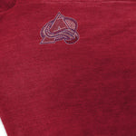 Colorado Avalanche Crystal Knit Poncho