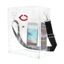 Load image into Gallery viewer, Minnesota Twins Clear Ticket Satchel