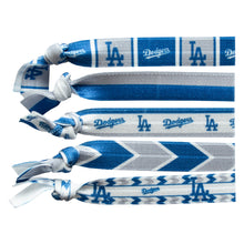Load image into Gallery viewer, Los Angeles Dodgers Knotted Hair Tie
