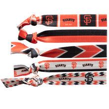 Load image into Gallery viewer, San Francisco Giants Knotted Hair Tie