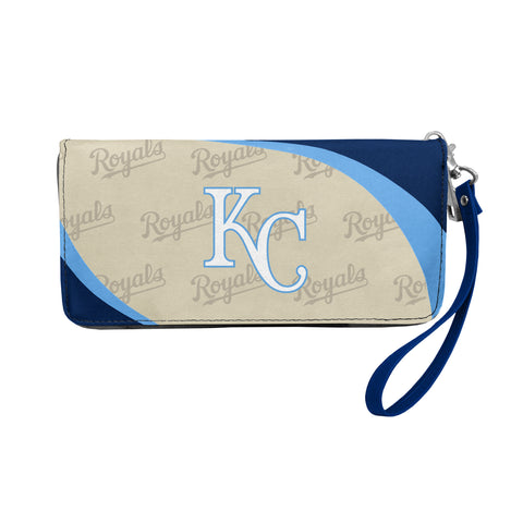 Kansas City Royals Curve Zip Organizer Wallet