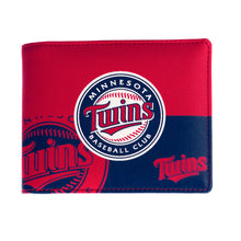 Load image into Gallery viewer, Minnesota Twins Bi-Fold Wallet