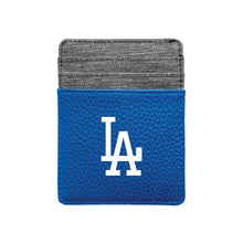 Load image into Gallery viewer, Los Angeles Dodgers Pebble Front Pocket Wallet