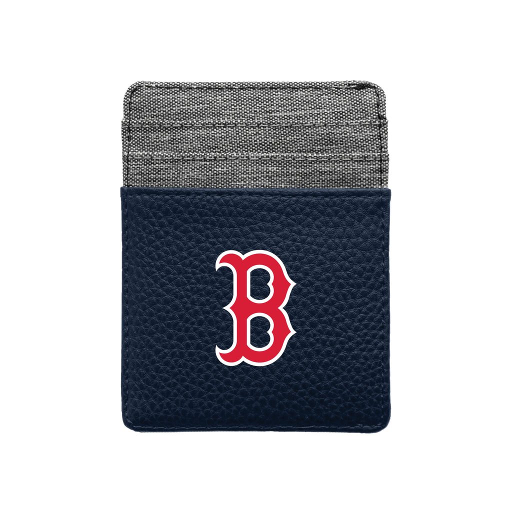 Boston Red Sox Pebble Front Pocket Wallet