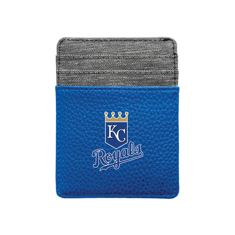 Kansas City Royals Pebble Front Pocket Wallet