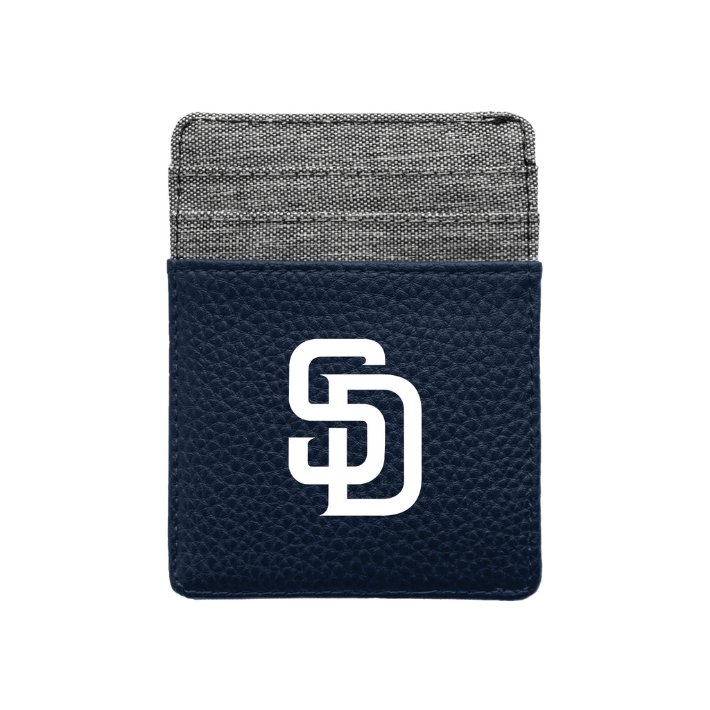 San Diego Padres Pebble Front Pocket Wallet