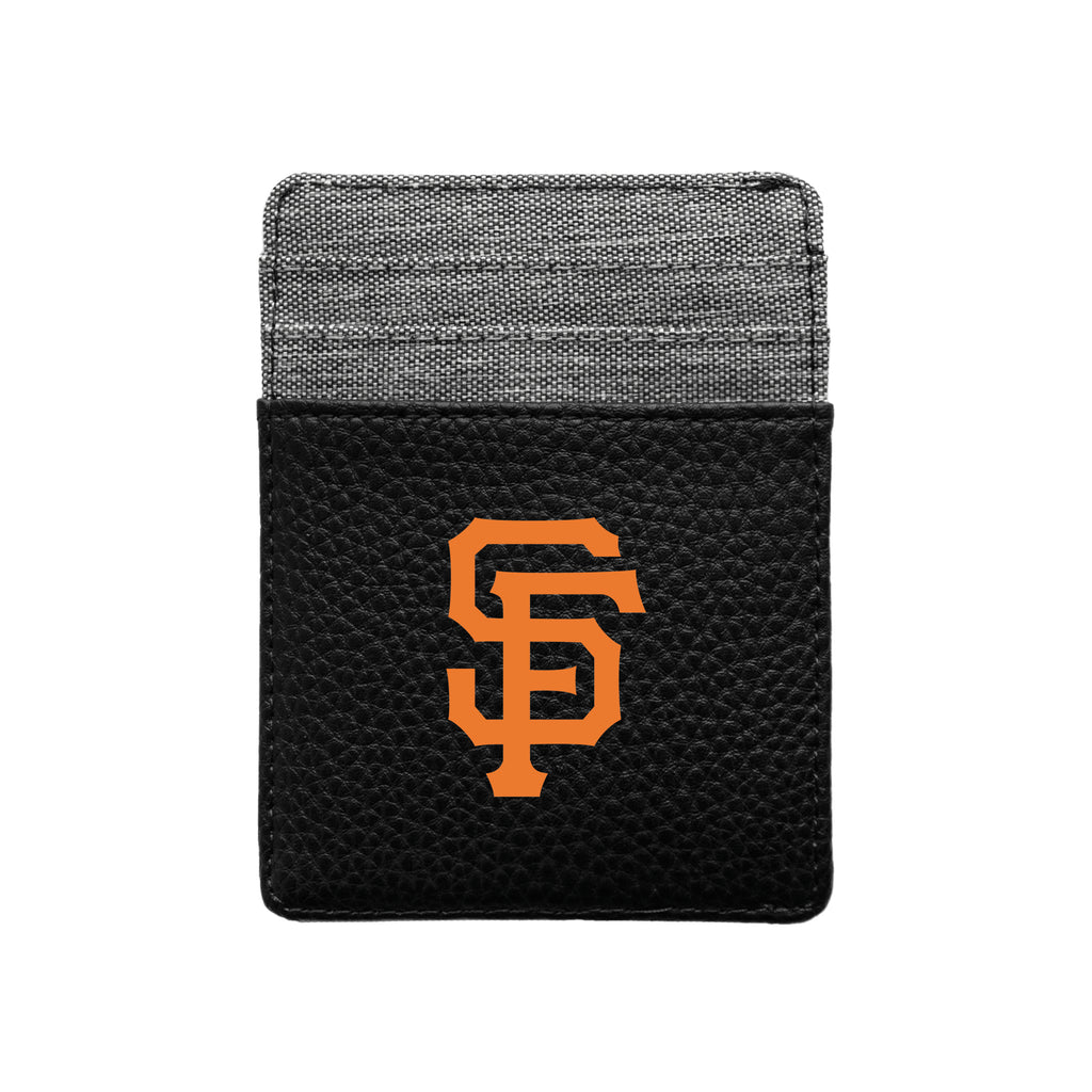 San Francisco Giants Pebble Front Pocket Wallet