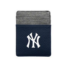 Load image into Gallery viewer, New York Yankees Pebble Front Pocket Wallet