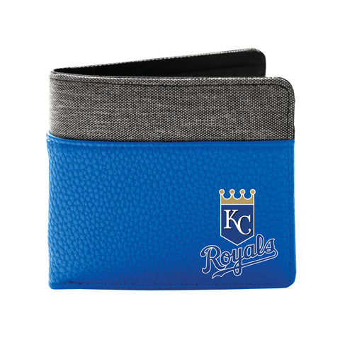Kansas City Royals Pebble Bi-Fold Wallet