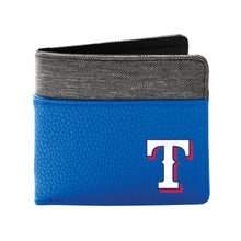 Load image into Gallery viewer, Texas Rangers Pebble Bi-Fold Wallet
