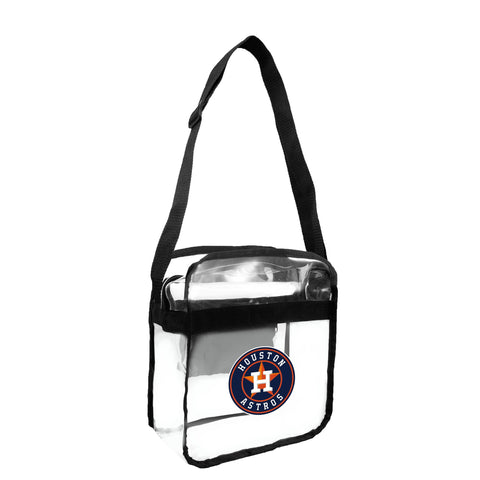 Houston Astros Clear Carryall Crossbody