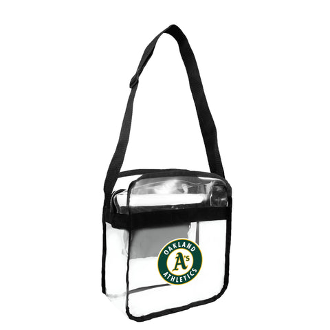 Oakland Athletics Clear Carryall Crossbody
