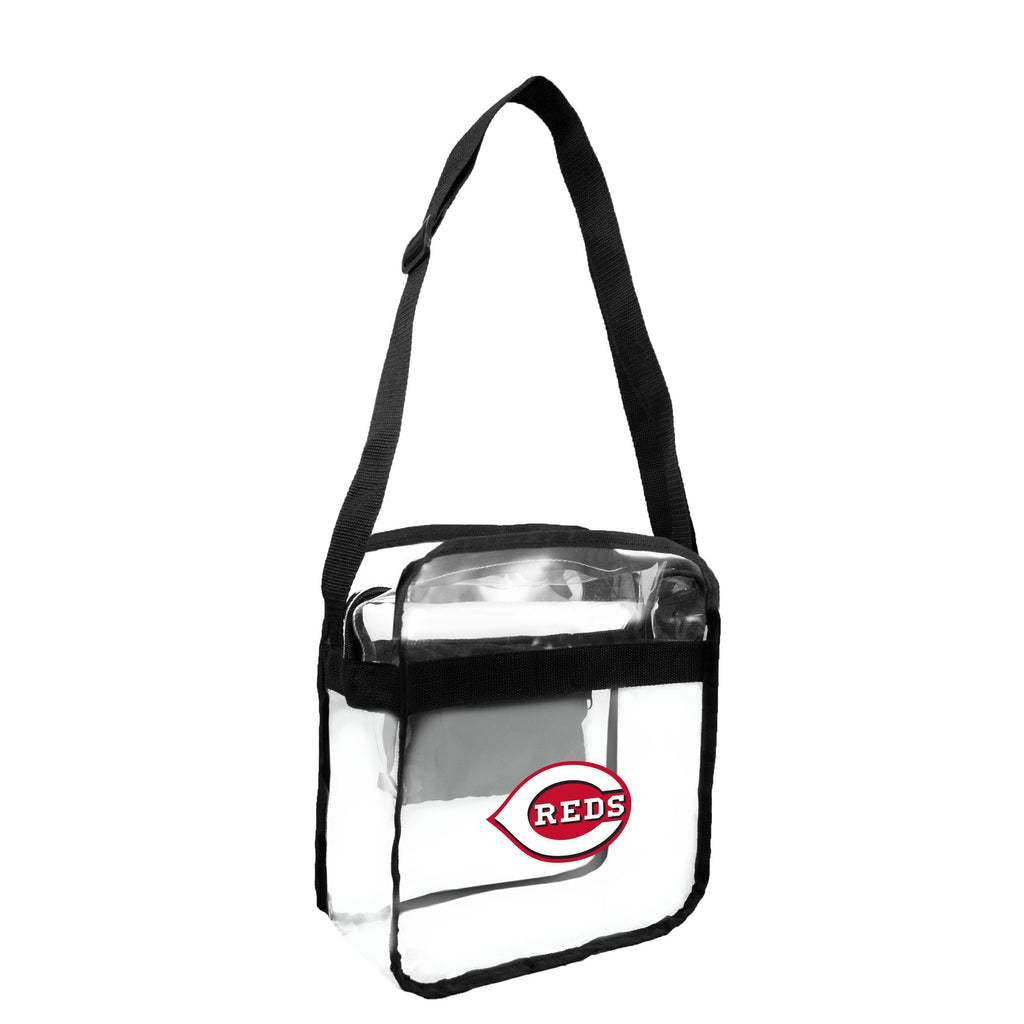 Cincinnati Reds Clear Carryall Crossbody