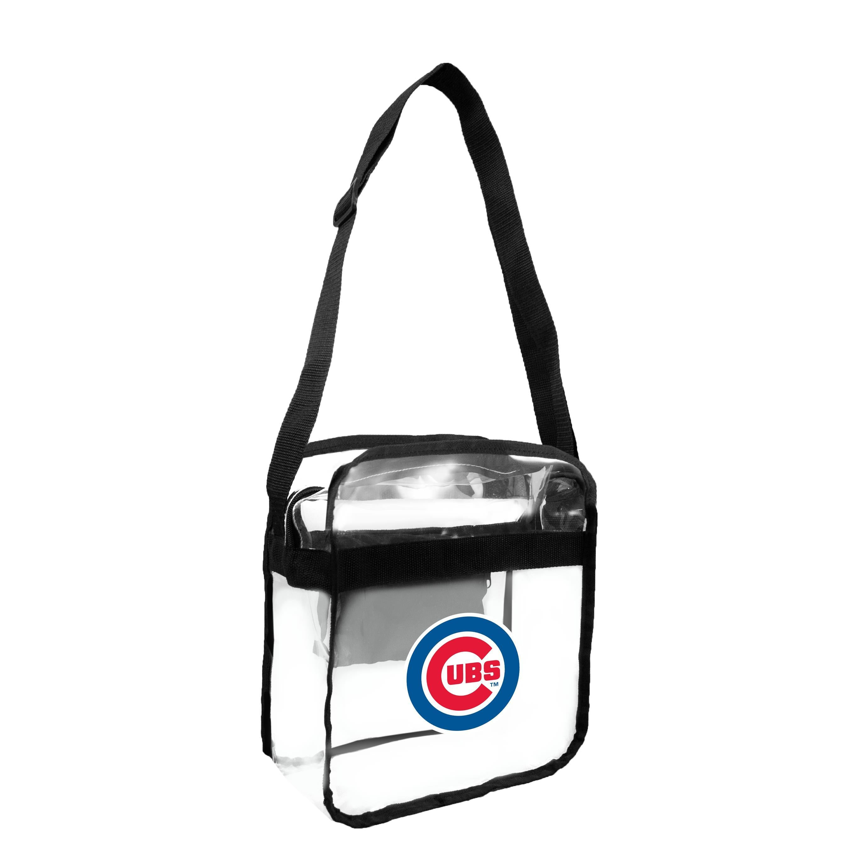 Chicago Cubs Clear Carryall Crossbody