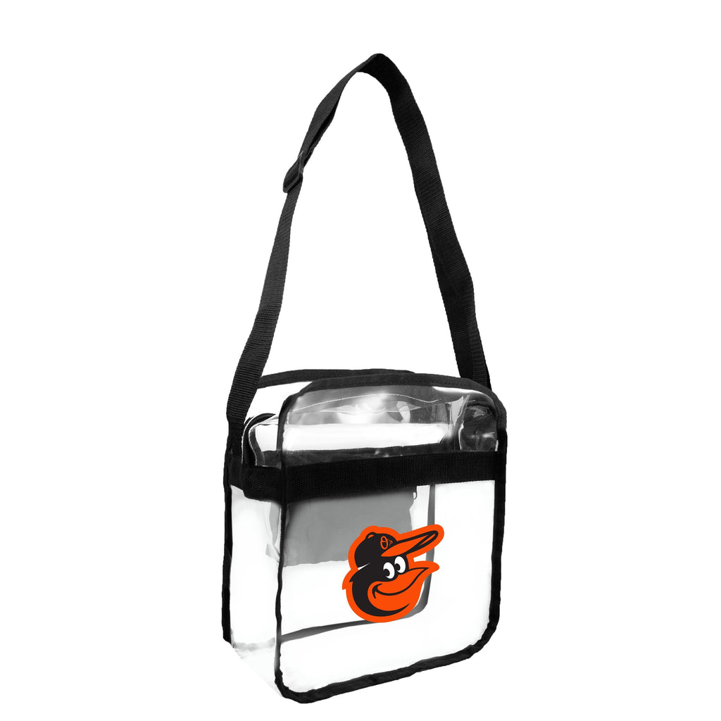 Baltimore Orioles Clear Carryall Crossbody