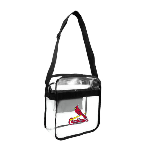 St. Louis Cardinals Clear Carryall Crossbody