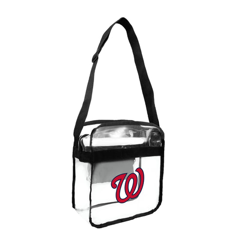 Washington Nationals Clear Carryall Crossbody