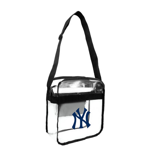 New York Yankees Clear Carryall Crossbody