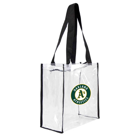 Oakland Athletics Clear Square Stadium Tote