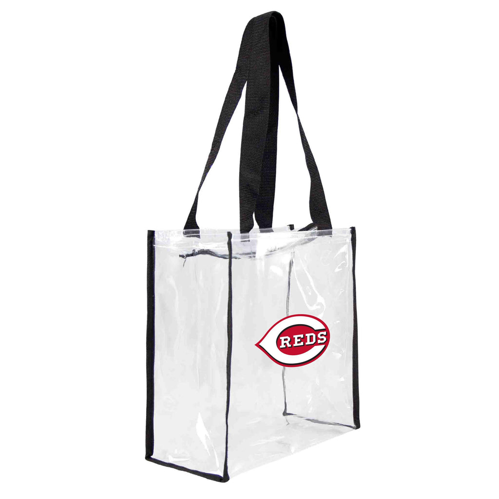 Cincinnati Reds Clear Square Stadium Tote
