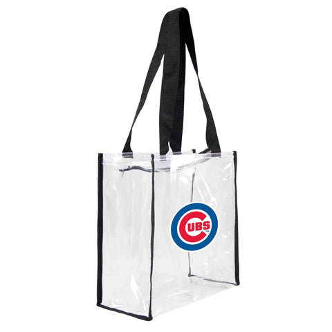 Chicago Cubs Clear Square Stadium Tote