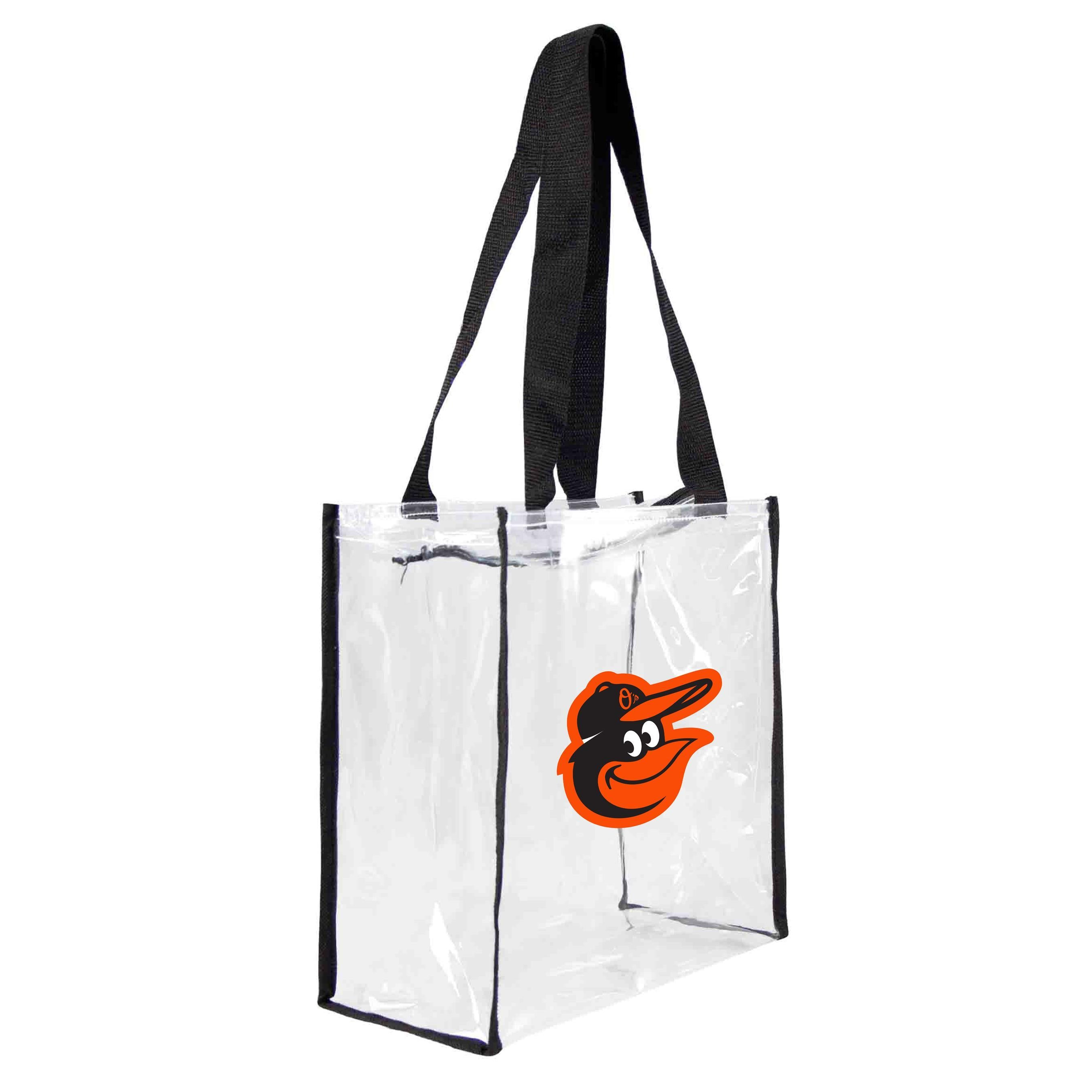 Baltimore Orioles Clear Square Stadium Tote