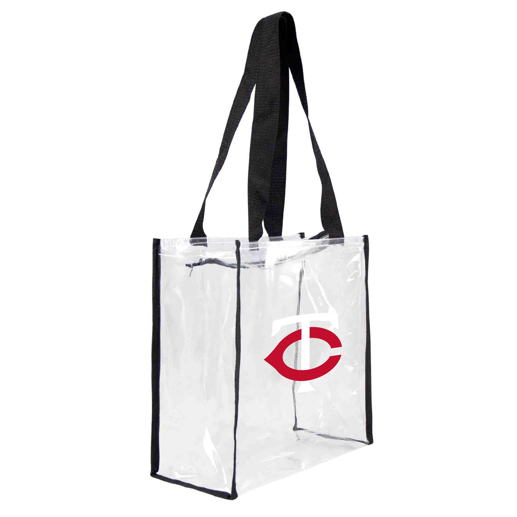 Minnesota Twins Clear Square Stadium Tote