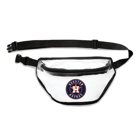 Houston Astros Clear Fanny Pack