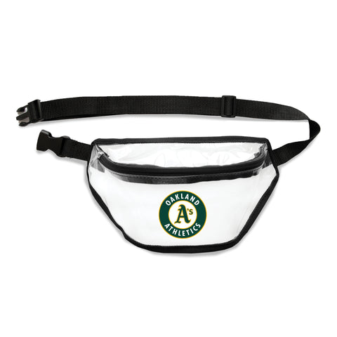 Oakland Athletics Clear Fanny Pack