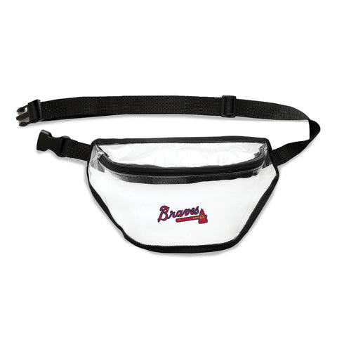 Atlanta Braves Clear Fanny Pack