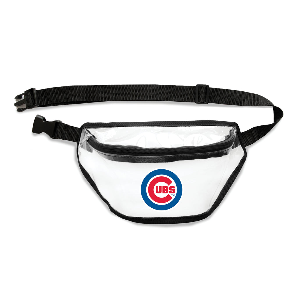 Chicago Cubs Clear Fanny Pack