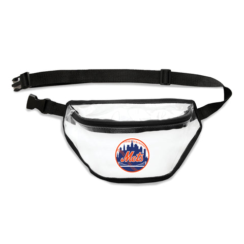 New York Mets Clear Fanny Pack