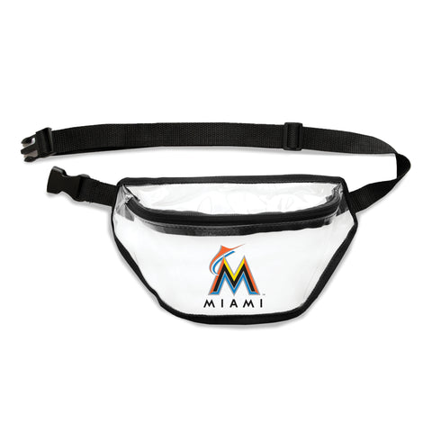Miami Marlins Clear Fanny Pack