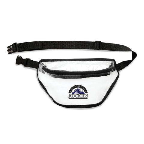 Colorado Rockies Clear Fanny Pack
