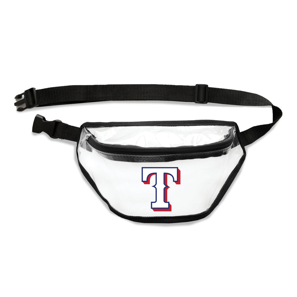 Texas Rangers Clear Fanny Pack