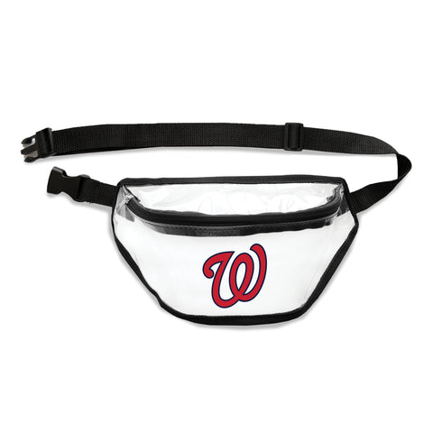 Washington Nationals Clear Fanny Pack