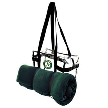 Load image into Gallery viewer, Oakland Athletics Clear Tote Along