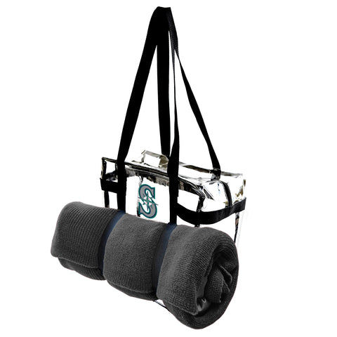 Seattle Mariners Clear Tote Along