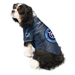New York City FC Pet Stretch Jersey