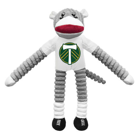 Portland Timbers Team Sock Monkey Pet Toy